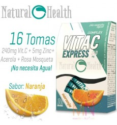 Vitamina C Express 240mg 16 serv.