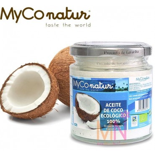 Aceite de Coco Virgen Ecológico 200g