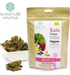 "Chips de Kale ecológico sabor ""Hot & Spicy"" 30g"