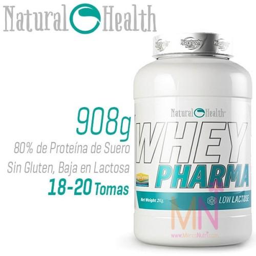 Proteína de Suero sin Gluten WHEY PHARMA 908 g