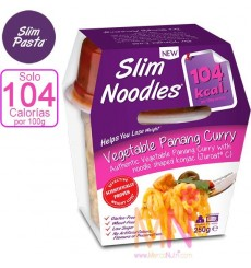 Slim Noodles Vegetable Panang curry 250g