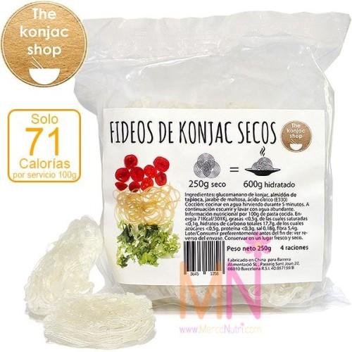 Fideos de Konjac Secos 250g