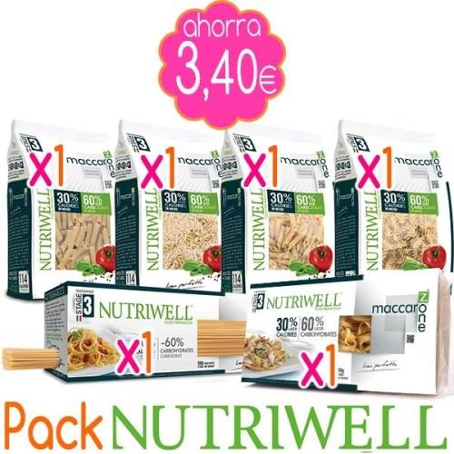 Pack Pasta para Dieta NUTRIWELL