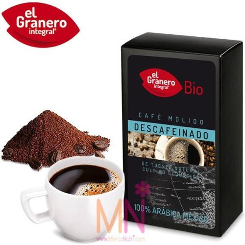 Café Descafeinado Molido 100% arábica México Bio 250g