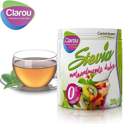 Stevia en polvo sin calorías 200g
