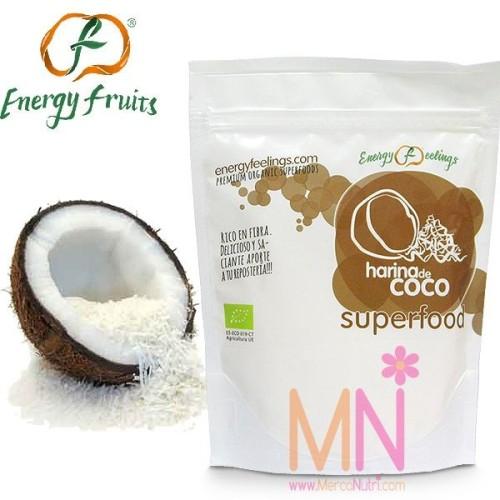 Harina de Coco baja en Grasas Ecológica 200g