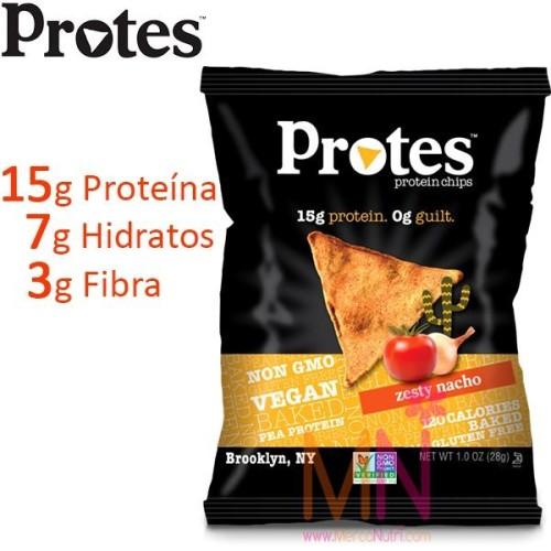 PROTES sabor Auténtico Nacho 28g