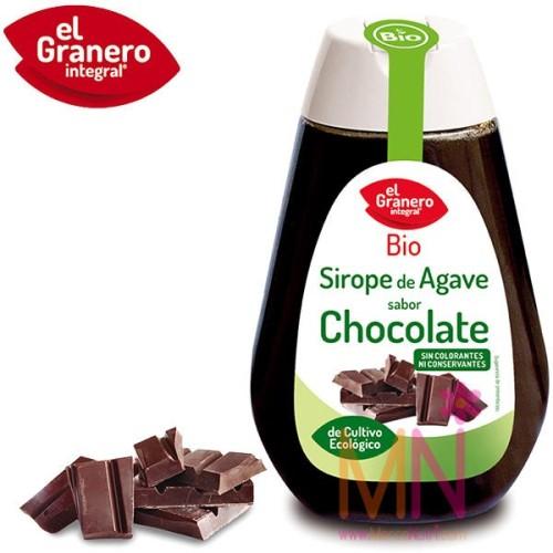 Sirope de Agave BIO sabor Chocolate 335 g