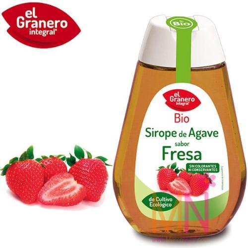 Sirope de Agave BIO sabor Fresa 335 g