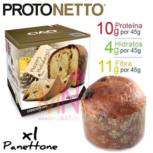 PROTONETTO (Pan dulce navideño bajo en calorías) - 1 unid. x 90g