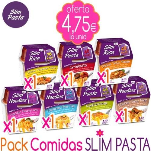 Pack Comidas Slim Pasta