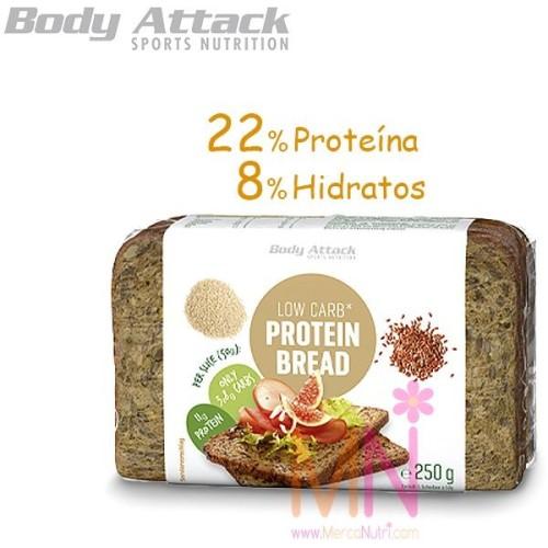 Pan Proteico Bajo en Carbohidratos 250g