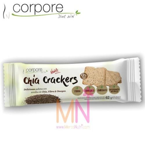 Chía Crackers 62g.