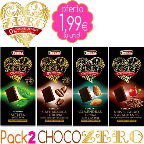 Pack 1 CHOCO ZERO