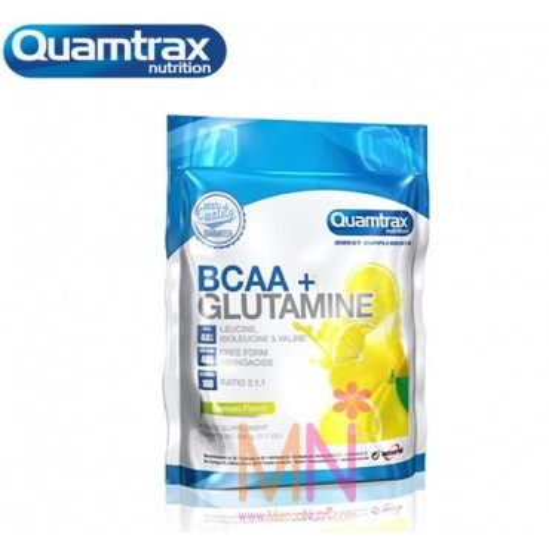 BCAA´S+GLUTAMINA Quantrax Direct 500g
