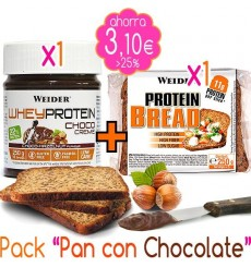 Pack Pan con Chocolate