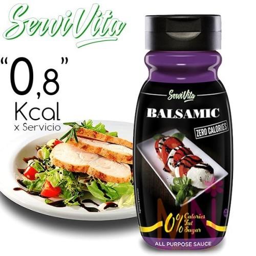 Salsa Balsamica Zero Calorías 320ml