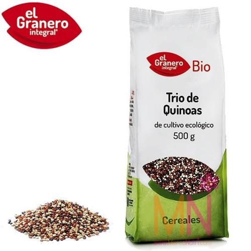Trio de Quinoas BIO 500 g