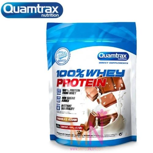 100% Whey Protein Quamtrax Direct (Concentrado de suero) 500g