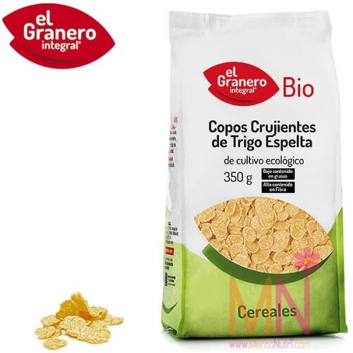 Copos Crujientes de Trigo Espelta BIO 350g