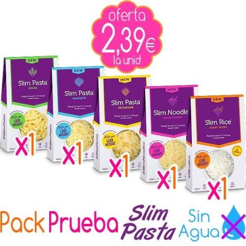 "Pack Prueba Slim Pasta ""Sin Agua"""