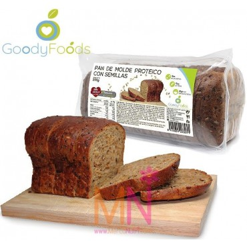 Pan de Molde Proteico con semillas 365g