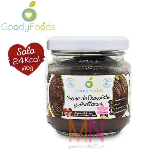 Crema de Chocolate y Avellanas baja en Calorías 120g