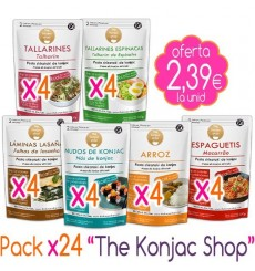 Pack x24 The Konjac Shop