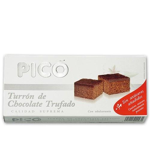 Turrón de Chocolate con Leche y Almendras sin azúcar 200g