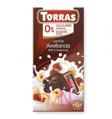 Chocolate con Leche y Avellanas - 75g