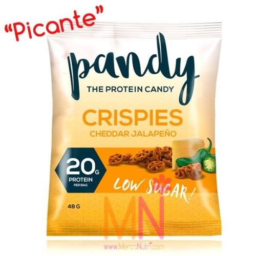 Crispies Proteicos sabor Cheddar Jalapeño (picante) 48g