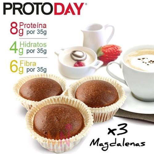 Magdalenas Proteicas PROTODAY - 3 unid.