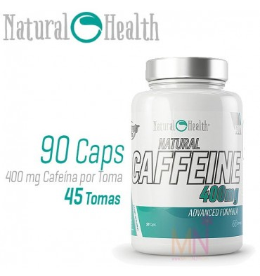Cafeína Natural 400mg - 90 cap