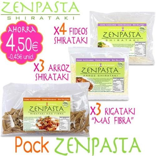 Pack ZENPASTA Shirataki - 10unid