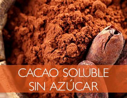 Chocolate soluble sin azúcar