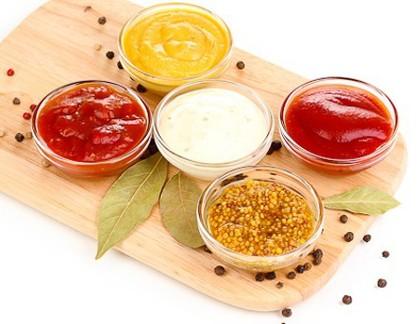 Salsas y siropes sin calorías