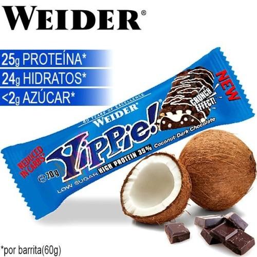 "Barrita proteica sin azúcares ""YIPPIE!"" - 70g"