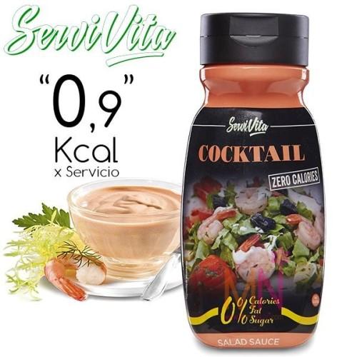 Salsa Cocktail Zero Calorías(Salsa Rosa) 320ml