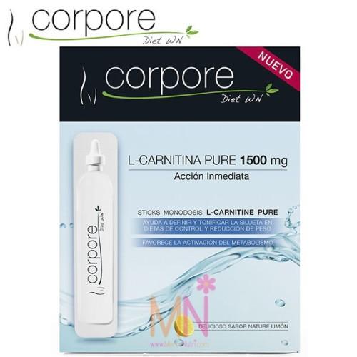 L-Carnitina Pure 1500mg - 10 Viales