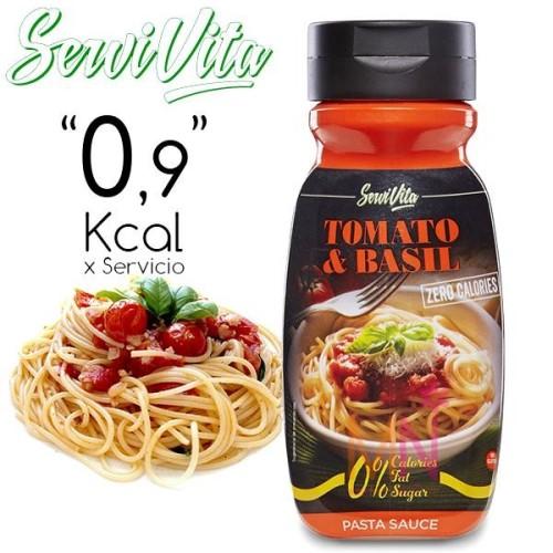 Salsa de Tomate Basílico Zero Calorías 305g