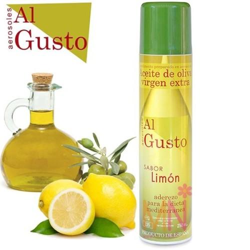 Spray de Aceite de Oliva sabor Limón 250ml