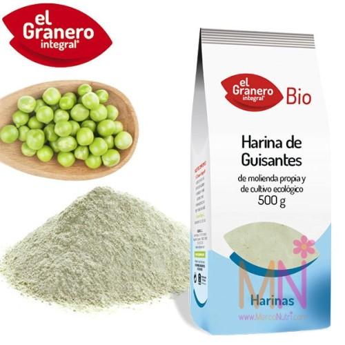 Harina de Guisantes Verdes BIO 500g