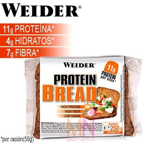 Pan Proteico Bajo en Calorías - 250g