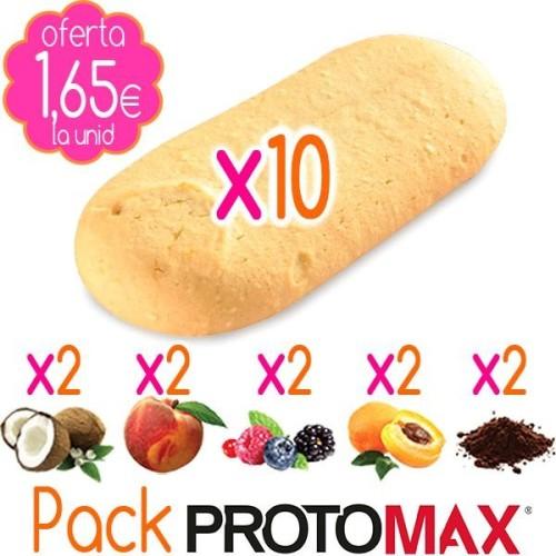 Pack Galletas PROTOMAX