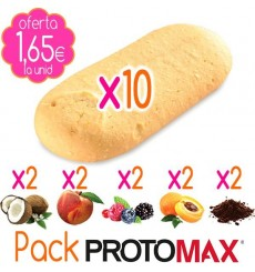 Pack Galletas PROTOMAX