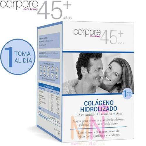 Colágeno Hidrolizado + Astaxantina + Gramada + Açai 15sobres