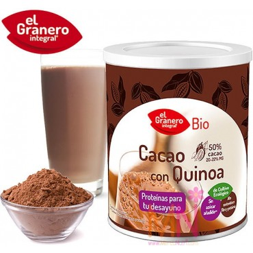 Cacao con Quinoa BIO 200g