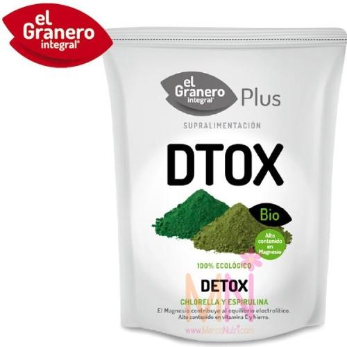 DETOX BIO (Desintoxicante, Chlorella y Spirulina) 200 g