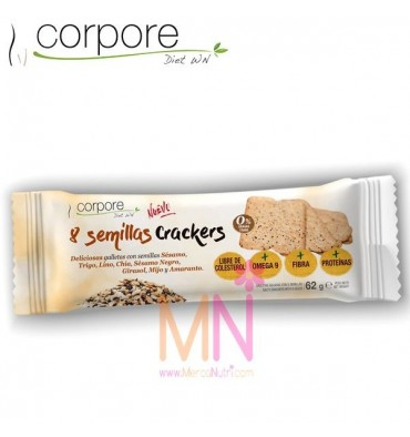 8 Semillas Crackers 62g.