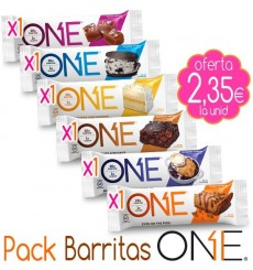 Pack Barritas proteicas ONE